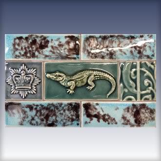 Backsplash-Alligator Panel