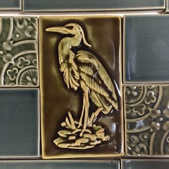 Backsplash Heron
