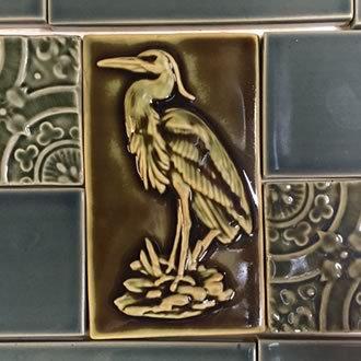 Backsplash Heron