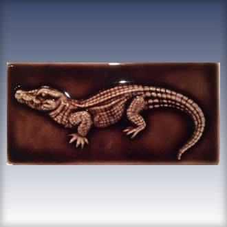 Decorative Alligator