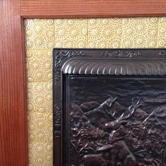 Flowers- Fireplace