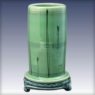 Footed Vase