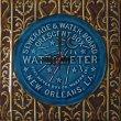 Bordered Water Meter Clock