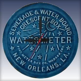 Water Meter Clock